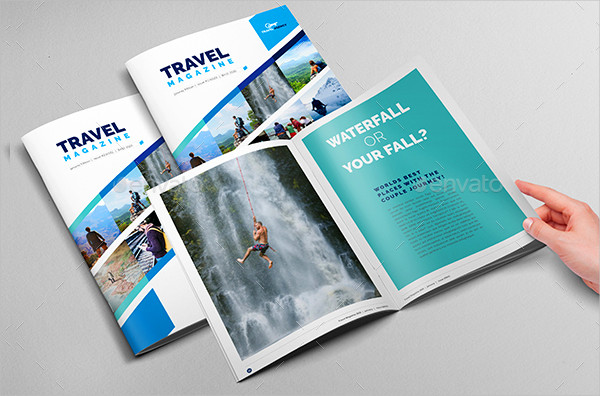 Traveling Magazine & Catalog Template