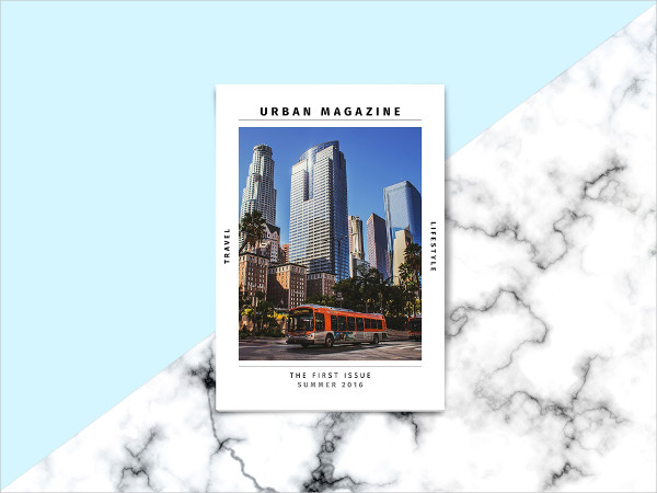 Amazing Traveling & Lifestyle Magazine Template