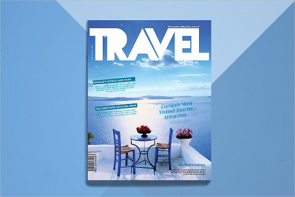 Gorgeous Contemporary Travel Magazine Templates
