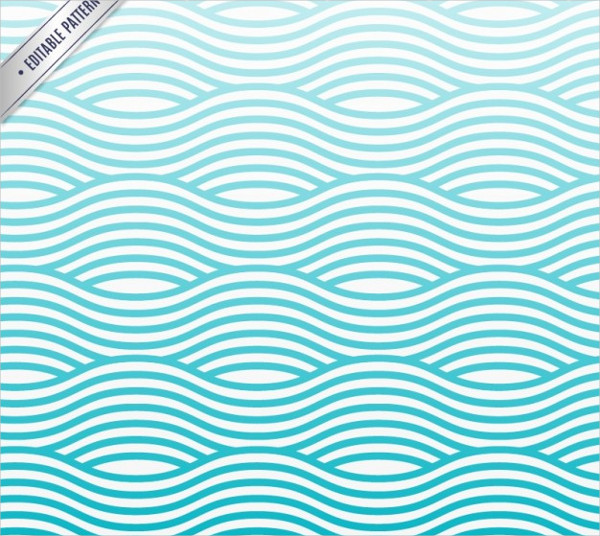 Waves pattern vector
