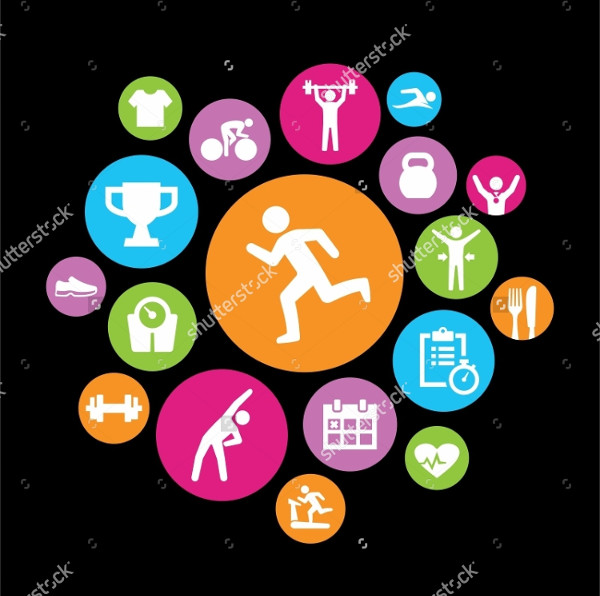 Icons for Physical Fitness
