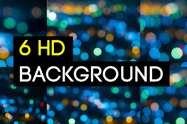 6 HD Bokeh Blur Backgrounds