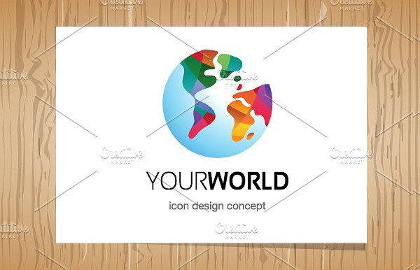 Abstract Your World Logo Template