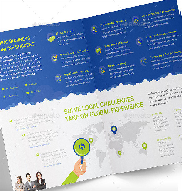 Digital Marketing & Advertising Agency Brochure