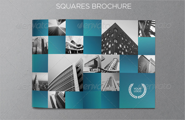 Architecture Squares Brochure Template