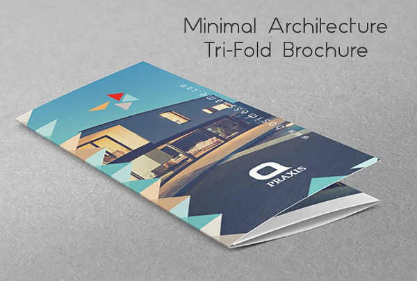 Awesome Architecture Tri-Fold Brochure Template
