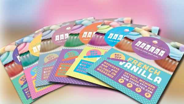 Bakery Flyer Templates Free Premium Download - Bakery brochure template free