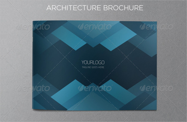 Blue Architecture Brochure Template