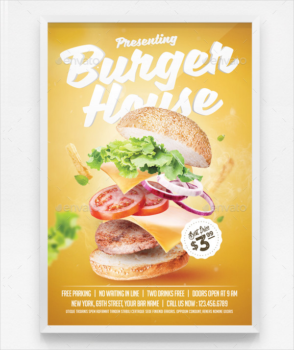 Best Burger House Flyer Template