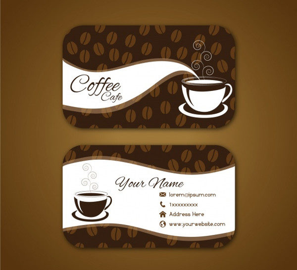 23 coffee business card templates free premium download for Coffee business