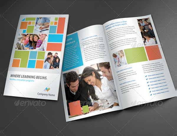 Education Promotion Brochure Template