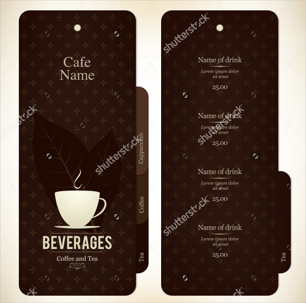 Coffee Menu Templates  Free  Premium Download