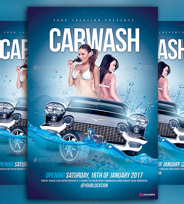 Car Wash Special Designed Flyer
