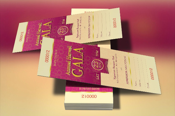29 Ticket Invitation Templates Free PSD AI EPS Format Download – Gala Invitation Template
