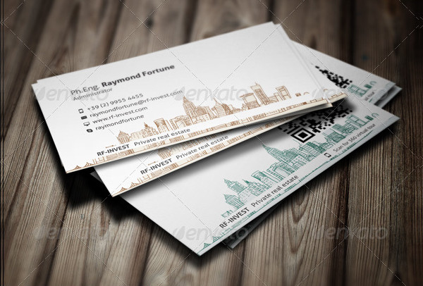 Classy Real Estate Business Card Template
