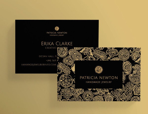 Jewelry Business Cards Templates Free