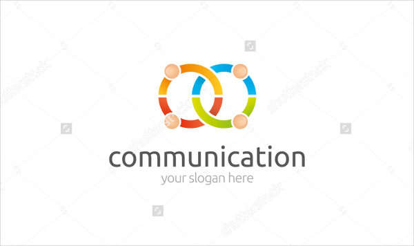 Attractive Communication Business Logo Template