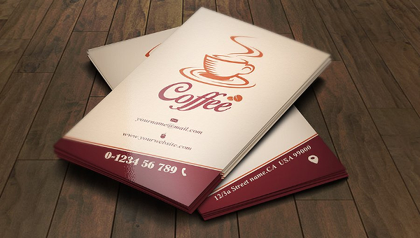 23 coffee business card templates free premium download wajeb Gallery