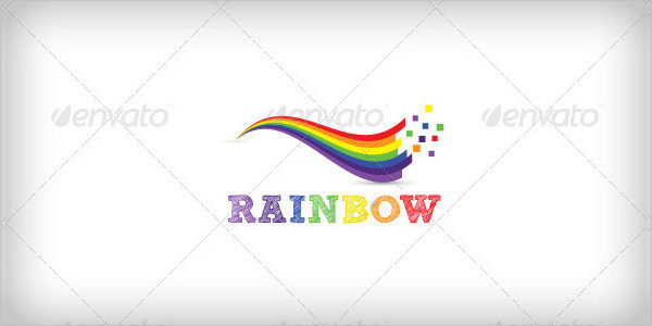 27  rainbow logo templates