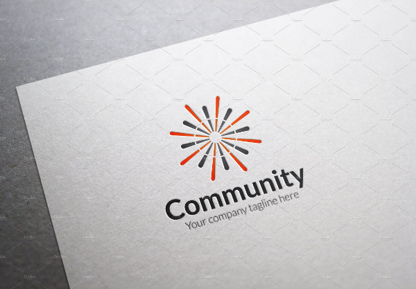 Modern Community Logo Template
