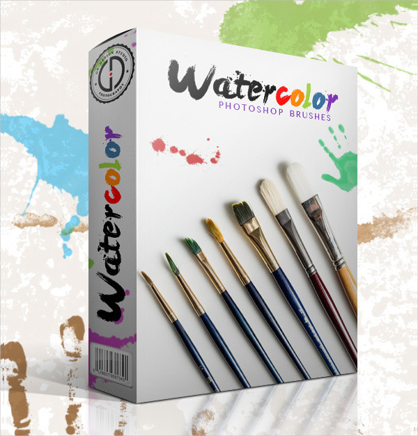 Creative Watercolor Paint Brushes