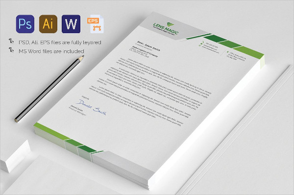 Psd Letterhead Template Psd Letterhead Template  Free Psd Format