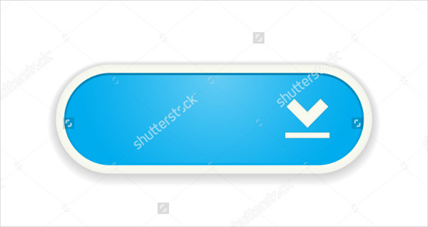 Download Blue Button with Frame