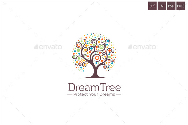 Dream Tree Project Logo Template