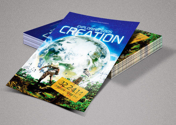 Earth Church Marketing Flyers Bundle