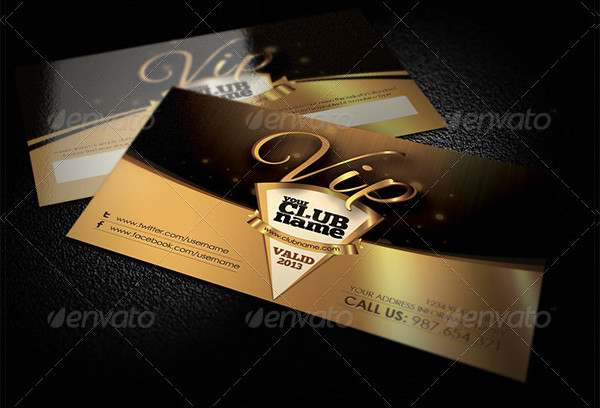 Easy to Customize VIP Cards