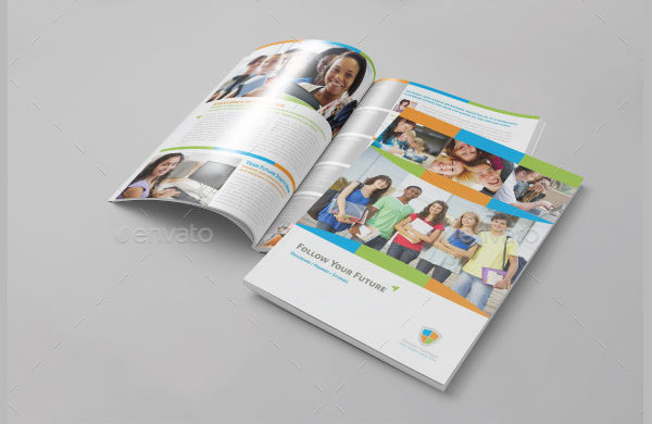 Education Informational Brochure Template