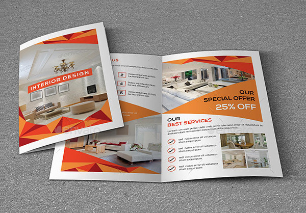 Interior Design Brochure Templates  Free  Premium Download