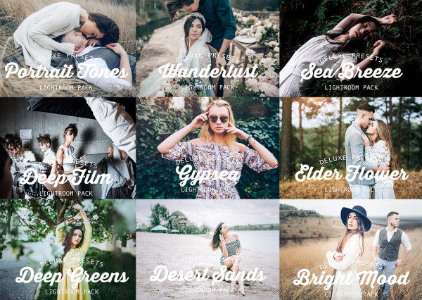 Entire Bundle Lightroom Presets