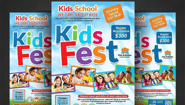 Kids Summer Camp Flyer Templates  Free  Premium Download