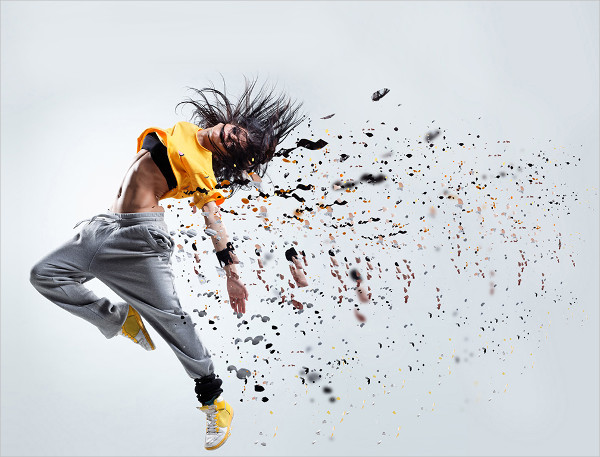 Free Dispersion Photoshop Action