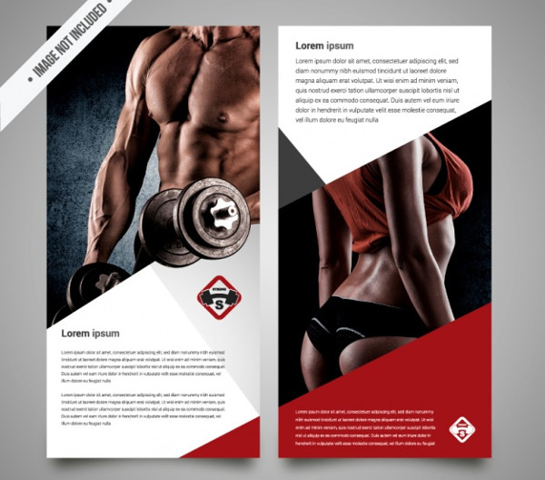 Free Download Fitness Trainer Brochure Template