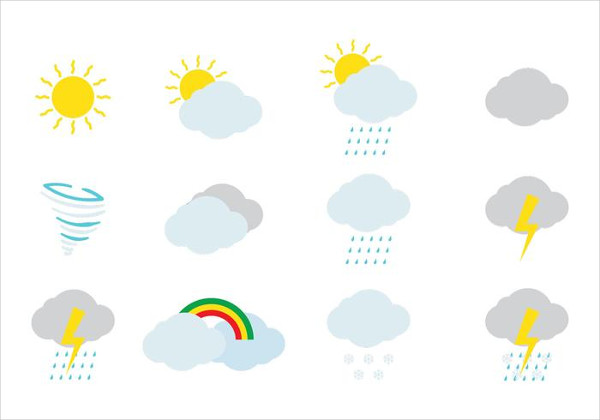 Free Weather Icon with Tornado Symbol