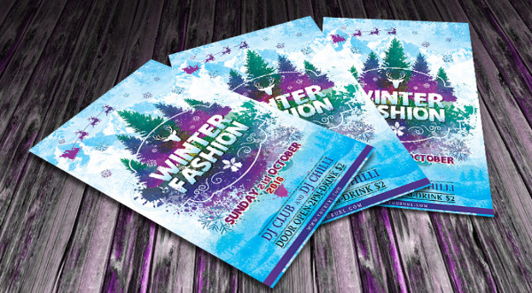 Free Winter Party Flyers