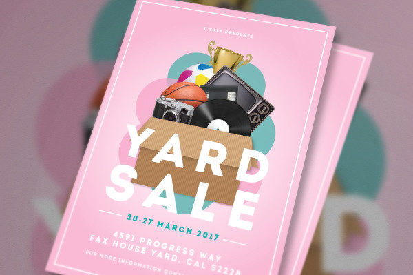 Best Yard Sale Flyer Template