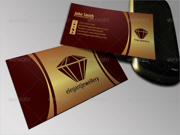 Best Jewelry Business Card Template