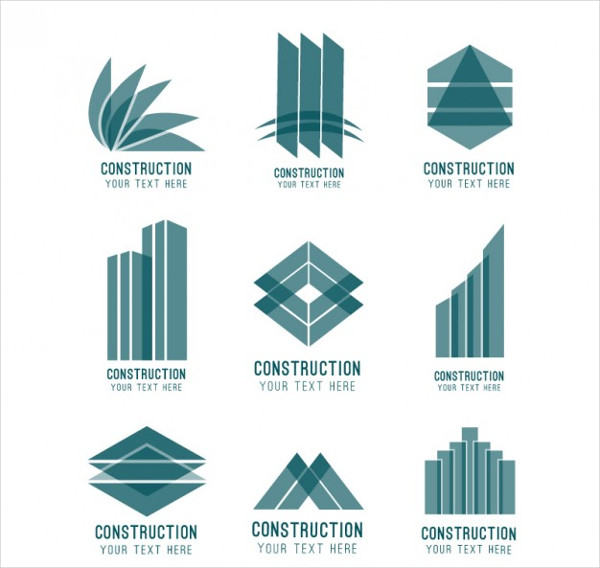 Abstract Construction Logos Free Download