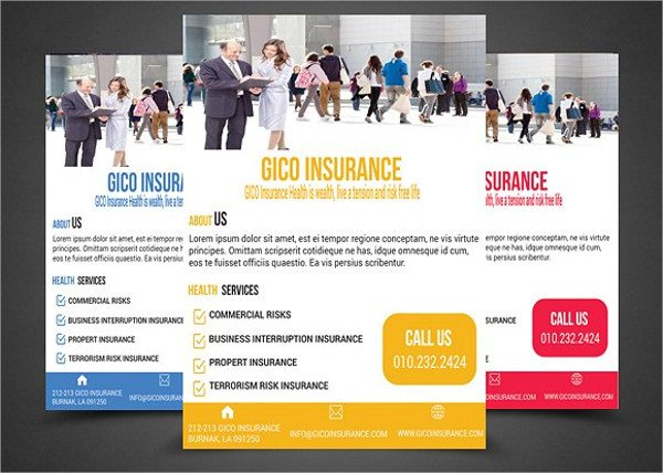 21+ Insurance Flyer Templates - Free PSD, AI, EPS, AI Format Download