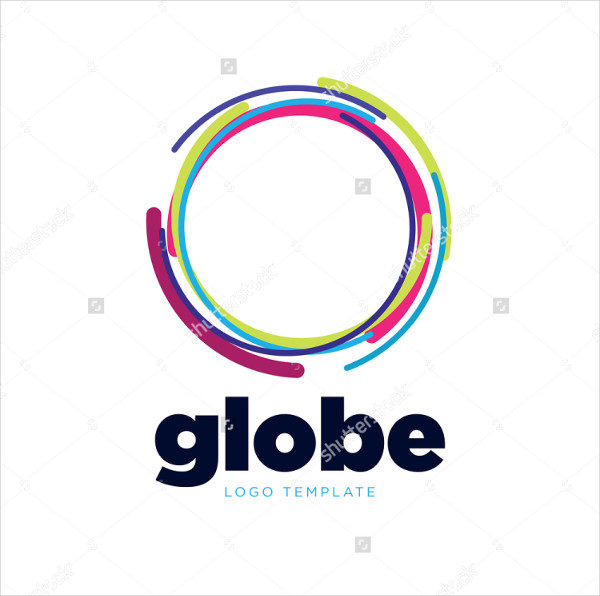 Global Technology Network Logo Template
