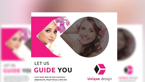 Hair Salon Flyer Templates Free Premium Download - Hair salon brochure templates