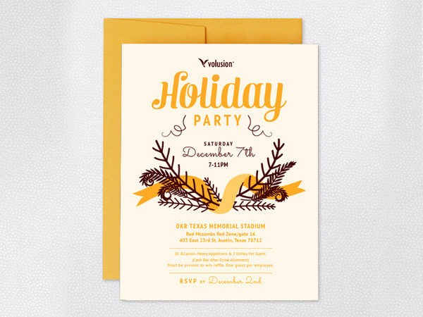 25 Holiday Invitation Templates Free PSD AI EPS Format Download – Annual Holiday Party Invitation Template