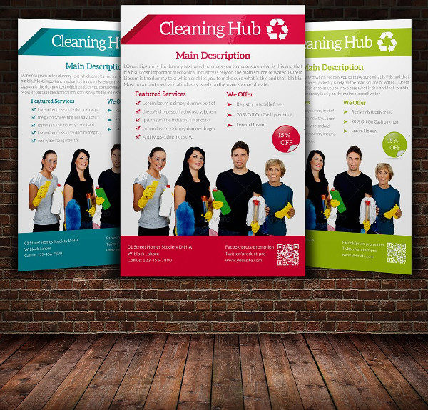 Home Cleaning Service Flyer