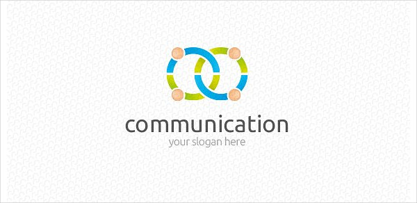 Fully Editable Communication Logo Template