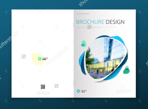 Interior Design Layout Brochure Template