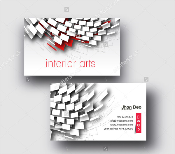 Modern Real Estate Business Card Vector