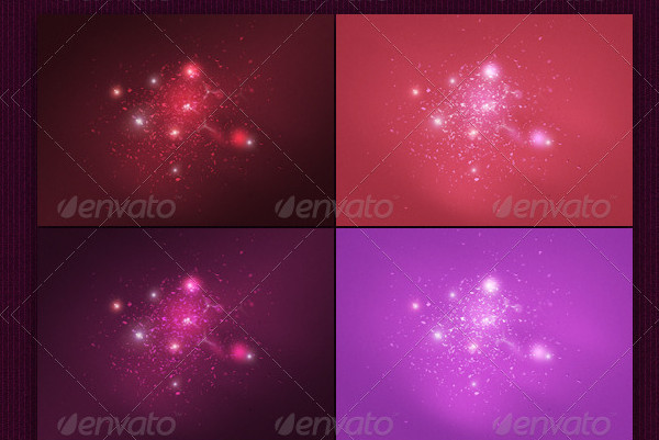 Light Particles Backgrounds